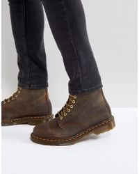 Dr. Martens - 1460 8-eye Boots In Brown - Lyst