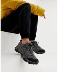 Merrell - Moab 2 Ventilator Hiking Festival Trainers In Grey - Lyst