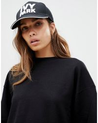 Ivy Park - Logo Baseball Cap In Black - Lyst