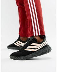 the best attitude 12fa8 8154e adidas Originals - Sobakov Trainers In Black Bb7674 - Lyst