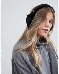 UGG - Classic Wired Sheepskin Black Earmuff Headphones - Lyst