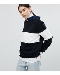 Converse - Cons Skate Sweatshirt In Black And White - Lyst