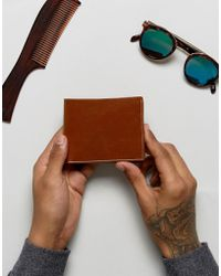 Stradivarius - Vintage Wallet In Tan - Lyst