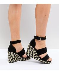 ASOS | Design Taffy Wide Fit Espadrille Wedges | Lyst