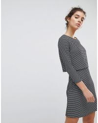 Miss Selfridge - Checked Dress - Lyst