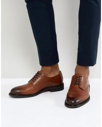 SELECTED - Leather Derby Shoes - Lyst