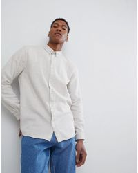 Weekday - Seattle Two Tone Shirt - Lyst
