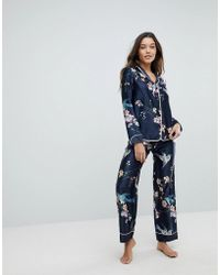 Ted Baker - B By Flight Of The Orient Print Pj Pant - Lyst