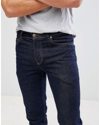 Mennace - Blue Plain Rise Slim Wallace Jeans - Lyst