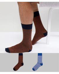 SELECTED - Socks 2 Pack - Lyst