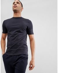 Reiss - Crew Neck T-shirt - Lyst