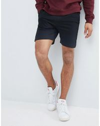 Another Influence - Textured Jersey Shorts - Lyst