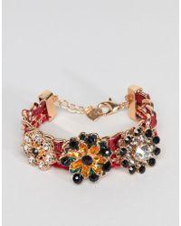 ALDO - Jewel Cluster Bracelet - Lyst