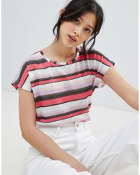 B.Young - Stripe Shell Top - Lyst