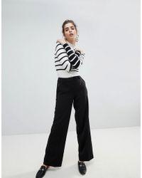 Vila | Tailored Wide Leg Trousers | Lyst