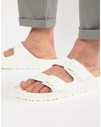 Birkenstock - Arizona Eva Sandals In White - Lyst