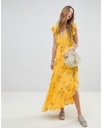 RahiCali - Sunkissed Floral Maxi Dress - Lyst