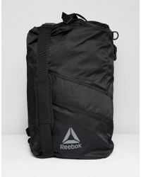 Reebok - Training Active Enhanced Convertible Grip Backpack In Black Cz9808 - Lyst