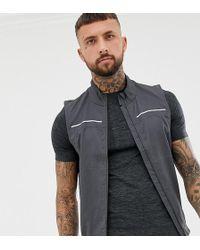 Asics - Lite Vest In Grey - Lyst