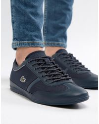 Lacoste - Misano Sport Trainers In Navy - Lyst