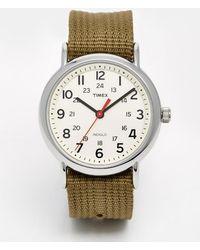 Timex - Originals Weekender Watch With Nylon Strap - Lyst