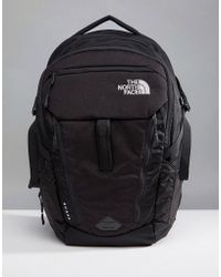 The North Face - Surge Backpack 33 Litres In Black - Lyst