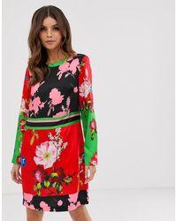Ted Baker Платье-туника С Цветочным Принтом - Yanna - Красный