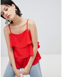River Island - Tiered Cami Top - Lyst