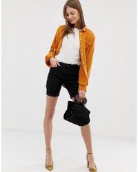 Vero Moda - Longline Shorts - Lyst