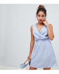 224fcc15 New Look - Swing Dress In Ditsy Floral - Lyst