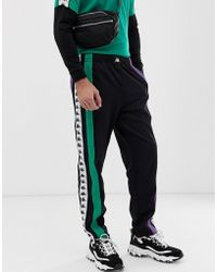 Kappa - Authentic Balic jogger With Logo Taping In Black - Lyst