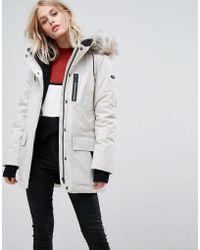 Esprit - Down Parka Jacket - Lyst