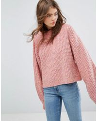 Weekday - Press Collection Knit Sweater - Lyst