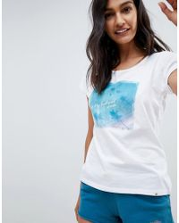Rip Curl - Rip Curl Eco Pacific Ombre Beach T-shirt - Lyst