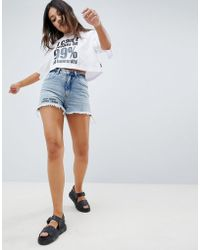 Cheap Monday - Donna Mom Shorts - Lyst