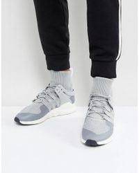 d35085c680ae0 adidas Originals - Eqt Support Adv Winter Sneakers In Grey Bz0641 - Lyst