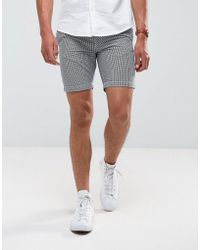 Common People - Oxford Check Shorts - Lyst