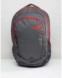 The North Face - Vault Backpack In Grey - Lyst