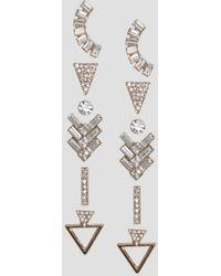 ALDO - Grice Multipack Shaped Earrings - Lyst