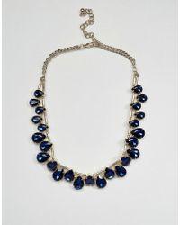 Coast - Tear Drop Necklace - Lyst