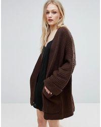 ADPT - Temma Knit Kimono Cardi - Lyst