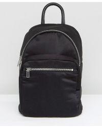 Monki - Satin Backpack - Lyst