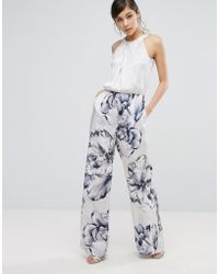 Coast - Percie Floral Printed Jumpsuit - Lyst