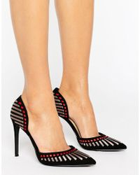 bb72e83aeb7 Forever Unique - Alicia Point Heeled Shoe - Lyst