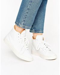Vero Moda - Hi Top Trainer - Lyst