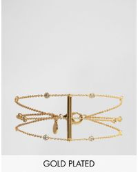Gorjana - Gold Plated Shimmer Bracelet - Lyst