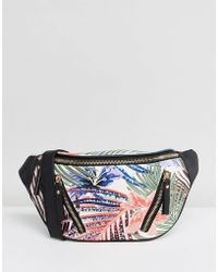 New Look - Palm Print Fanny Pack - Lyst