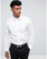 Lambretta - Smart Slim Fit Shirt - Lyst