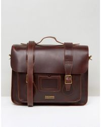 Dr. Martens - 15 Leather Satchel Red - Lyst