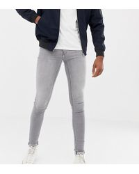 Blend - Tall Flurry Muscle Fit Jeans In Gray - Lyst